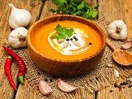 Супа от тиква със заквасена сметана